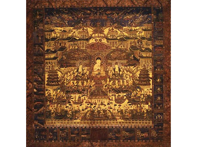 A picture of Jodo mandala : Art