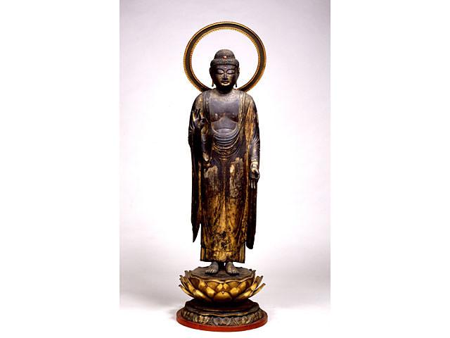 Amitabha Tathagata standing image : art