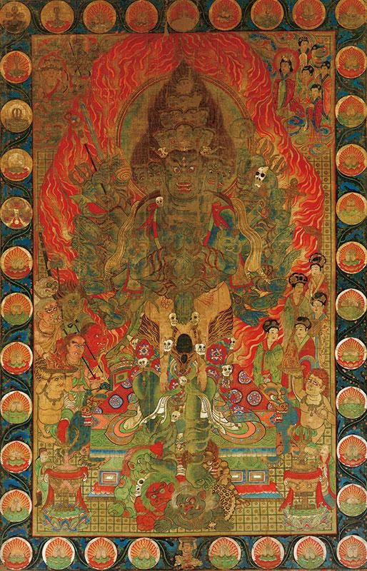 太元帥明王像(三十六臂)