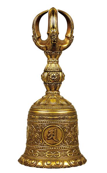 金銅五鈷鈴