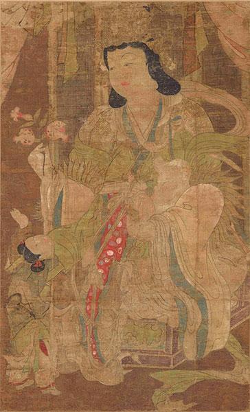Standing Kokūzō Bosatsu