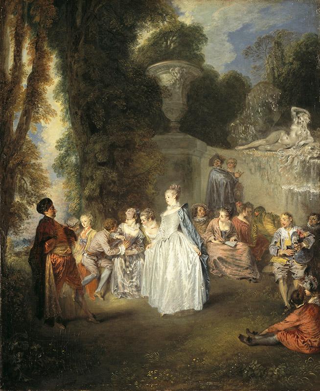 ジャン=アントワーヌ・ヴァトー《ヴェネチアの宴》