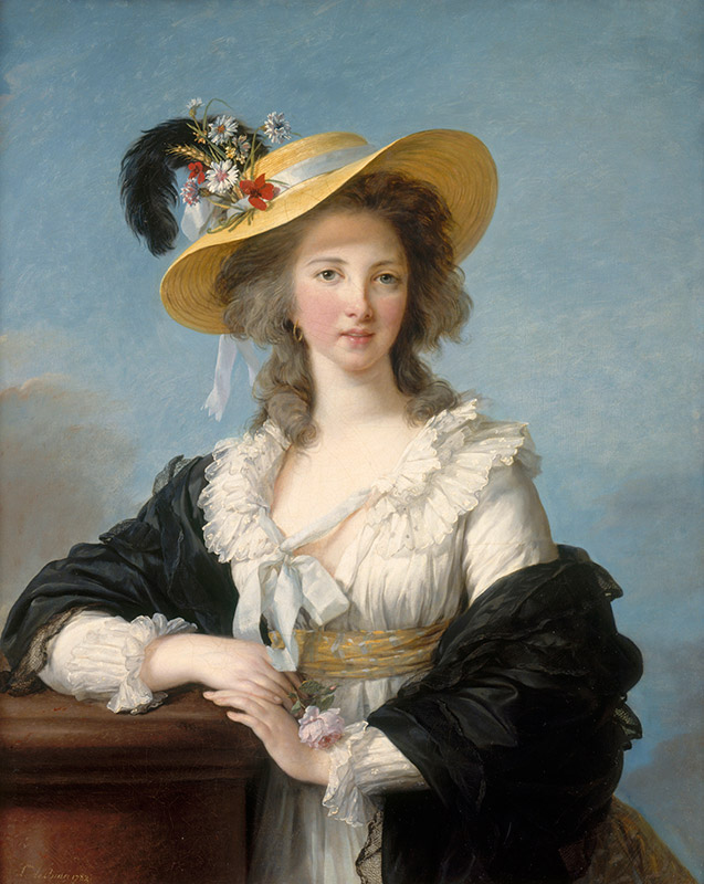 エリザベト=ルイーズ・ヴィジェ・ルブラン《ポリニャック公爵夫人、ガブリエル・ヨランド・クロード・マルチーヌ・ド・ポラストロン》