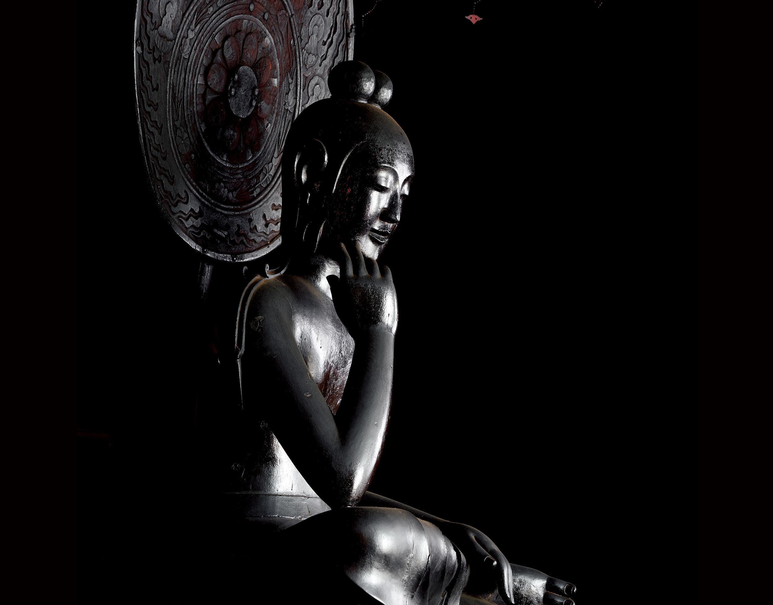 「奈良 中宮寺の国宝」