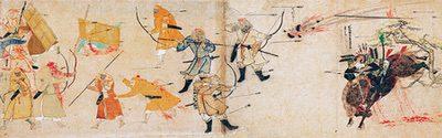 《蒙古襲来絵詞》