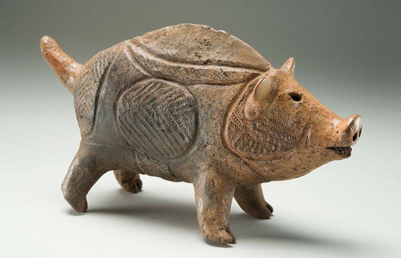 猪形土製品