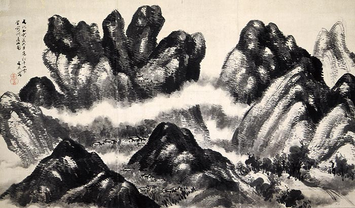 彦山真景図