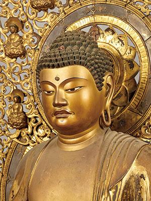 重要文化財 釈迦如来坐像(部分) 大報恩寺蔵