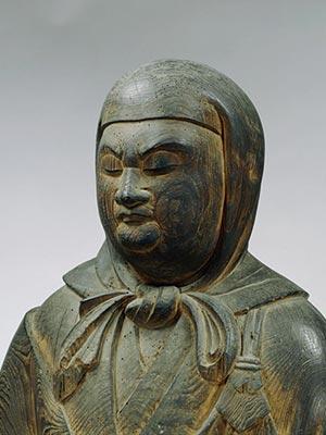 重要文化財 伝教大師坐像                  滋賀・観音寺