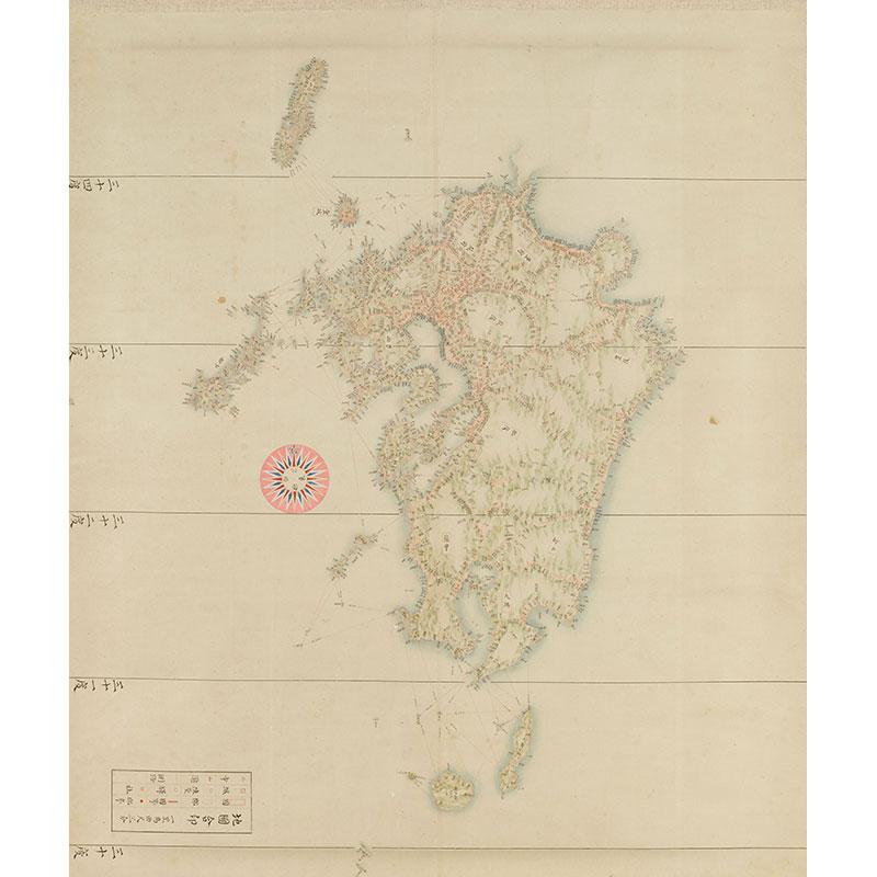 九州一円之図