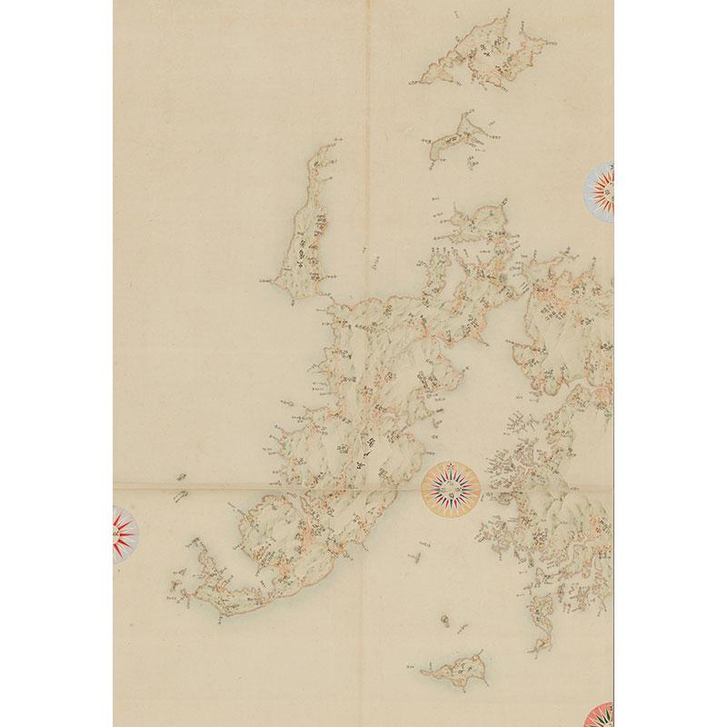 実測地図(小佐々・鹿町・田平・平戸)