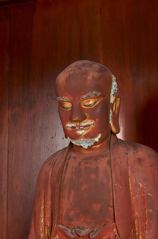 達磨大師坐像