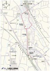二日市駅周辺地図